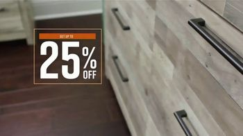 Ashley HomeStore Friends & Family Sale TV Spot, '25% Off: Buy Now, Pay Later' - Thumbnail 4