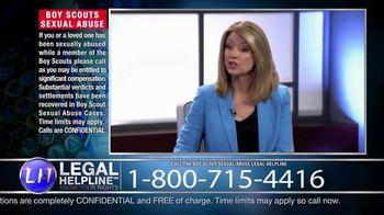 Sheldon Law Group TV Spot, 'Boy Scouts Abuse Helpline' - Thumbnail 4
