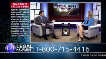 Sheldon Law Group TV Spot, 'Boy Scouts Abuse Helpline' - Thumbnail 5