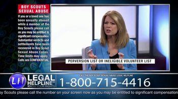 Sheldon Law Group TV Spot, 'Boy Scouts Abuse Helpline' - Thumbnail 6