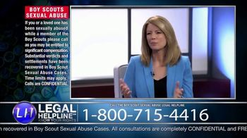 Sheldon Law Group TV Spot, 'Boy Scouts Abuse Helpline' - Thumbnail 7