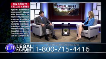 Sheldon Law Group TV Spot, 'Boy Scouts Abuse Helpline' - Thumbnail 8