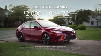2020 Toyota Camry TV Spot, 'Billy' [T2] - Thumbnail 8