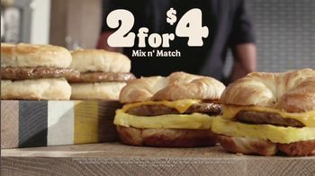 Burger King 2 for $4 Mix n' Match TV Spot, 'Worth Waking Up For: Free Delivery' - Thumbnail 8