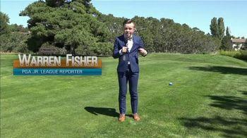 PGA Junior League Golf TV Spot, 'Teen Reporter' Feat. Stephen Curry, Lexi Thompson - Thumbnail 1