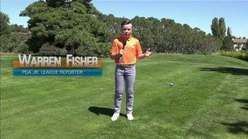 PGA Junior League Golf TV Spot, 'Teen Reporter' Feat. Stephen Curry, Lexi Thompson - Thumbnail 2