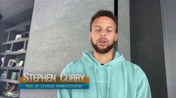 PGA Junior League Golf TV Spot, 'Teen Reporter' Feat. Stephen Curry, Lexi Thompson - Thumbnail 6