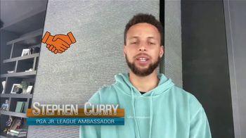 PGA Junior League Golf TV Spot, 'Teen Reporter' Feat. Stephen Curry, Lexi Thompson - Thumbnail 7