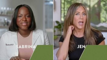 Aveeno TV Spot, 'Chat With an Aveeno Principal Scientist' Featuring Jennifer Aniston - Thumbnail 1