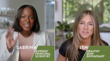 Aveeno TV Spot, 'Chat With an Aveeno Principal Scientist' Featuring Jennifer Aniston - Thumbnail 2