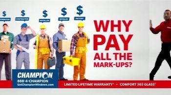Champion Windows TV Spot, 'No Middleman, No Mark-Ups' - Thumbnail 2