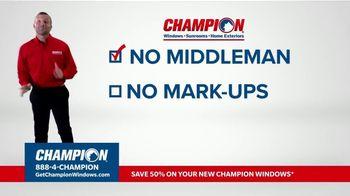 Champion Windows TV Spot, 'No Middleman, No Mark-Ups' - Thumbnail 3