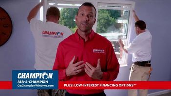 Champion Windows TV Spot, 'No Middleman, No Mark-Ups'