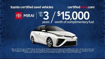 Toyota Mirai TV Spot, 'Certified Used' [T2] - Thumbnail 3