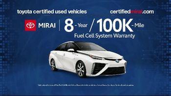 Toyota Mirai TV Spot, 'Certified Used' [T2] - Thumbnail 4