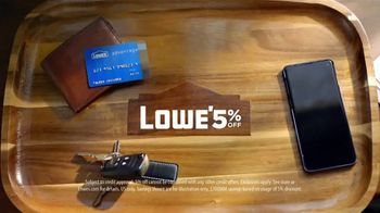 Lowe's Advantage Card TV Spot, 'Extra 5%' - Thumbnail 8