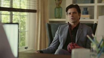 GEICO TV Spot, 'John Stamos Knits a Scarf'