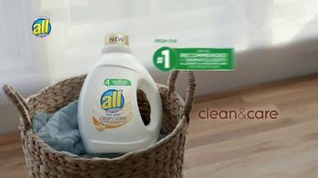 All Free Clear Clean & Care TV Spot, 'A Comfortable Clean' - Thumbnail 9
