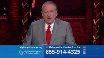 International Fellowship Of Christians and Jews TV Spot, 'Genocide' Featuring Mike Huckabee - Thumbnail 8