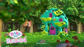 BABY born Surprise Treehouse Playset TV Spot, 'Flower Shower' - Thumbnail 1