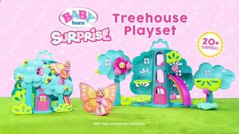 BABY born Surprise Treehouse Playset TV Spot, 'Flower Shower' - Thumbnail 10