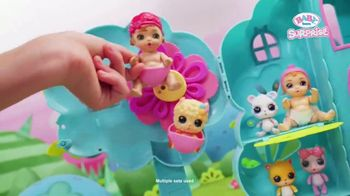 BABY born Surprise Treehouse Playset TV Spot, 'Flower Shower' - Thumbnail 7
