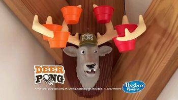 Deer Pong TV Spot, 'A Talking Deer' - Thumbnail 9