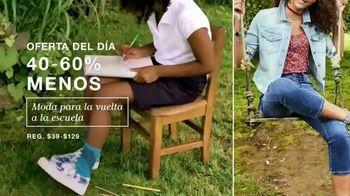 Macy's La Venta de Un Día TV Spot, 'Joyas finas, zapatos y moda para la escuela' [Spanish] - Thumbnail 4