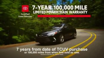 Toyota Certified Used Vehicles TV Spot, 'Handle Life's Adventures' [T1] - Thumbnail 5
