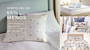 Macy's Venta de Un Día TV Spot, 'Almohadas, sofa y cocina' [Spanish] - Thumbnail 3