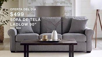 Macy's Venta de Un Día TV Spot, 'Almohadas, sofa y cocina' [Spanish] - Thumbnail 4