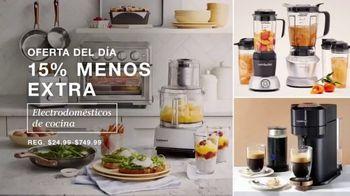 Macy's Venta de Un Día TV Spot, 'Almohadas, sofa y cocina' [Spanish] - Thumbnail 6