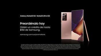 Samsung Galaxy Note20 TV Spot, 'Teléfono de energía' canción de I Don't Speak French [Spanish] - Thumbnail 10