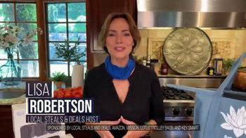 Local Steals & Deals TV Spot, 'Blink, Mission Cooling, Lotus Trolley & Key Smart' Featuring Lisa Robertson - Thumbnail 2