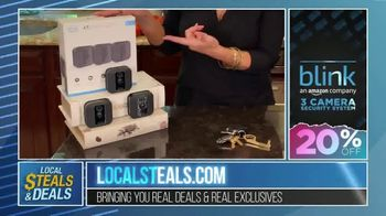 Local Steals & Deals TV Spot, 'Blink, Mission Cooling, Lotus Trolley & Key Smart' Featuring Lisa Robertson - Thumbnail 4
