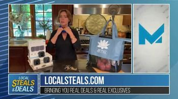 Local Steals & Deals TV Spot, 'Blink, Mission Cooling, Lotus Trolley & Key Smart' Featuring Lisa Robertson - Thumbnail 5