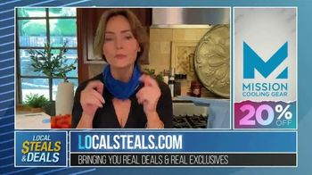 Local Steals & Deals TV Spot, 'Blink, Mission Cooling, Lotus Trolley & Key Smart' Featuring Lisa Robertson - Thumbnail 6