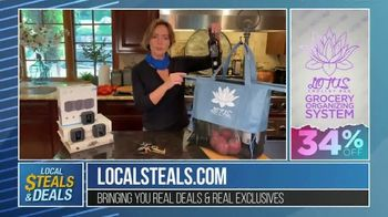 Local Steals & Deals TV Spot, 'Blink, Mission Cooling, Lotus Trolley & Key Smart' Featuring Lisa Robertson - Thumbnail 7
