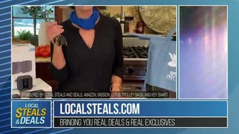 Local Steals & Deals TV Spot, 'Blink, Mission Cooling, Lotus Trolley & Key Smart' Featuring Lisa Robertson - Thumbnail 8