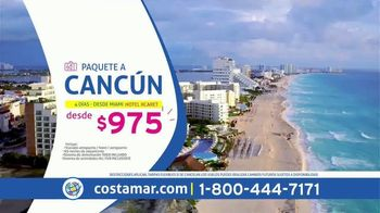 Costamar Travel TV Spot, 'Viaja mas por menos: Cancún y más' [Spanish] - Thumbnail 2