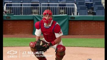 Chevrolet TV Spot, 'Chevy Youth Baseball: First Pitch' Featuring John Smoltz, J.T. Realmuto [T1] - 24 commercial airings