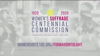 Women's Suffrage Centennial Commission TV Spot, 'Forward Into Light' - Thumbnail 8