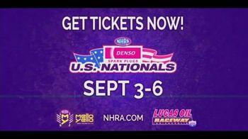 NHRA TV Spot, '2020 Denso Spark Plugs U.S. Nationals: Lucas Oil Raceway' - Thumbnail 5