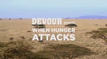 DEVOUR Foods TV Spot, 'When Hunger Attacks: Safari' - Thumbnail 1