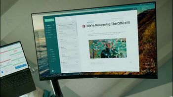 ServiceNow Safe Workplace TV Spot, 'Work Your Way Back' Song by The Spinners