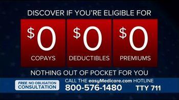 easyMedicare.com TV Spot, 'If You're Eligible' Featuring Joe Theismann - Thumbnail 5