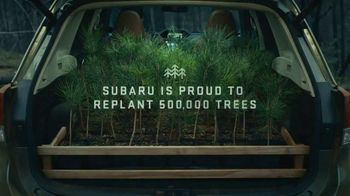Subaru TV Spot, 'The Subaru Forester Re-Foresting Project' [T1] - Thumbnail 9
