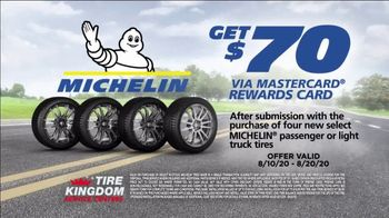 Tire Kingdom Big Brands Bonus Month TV Spot, 'Michelin Tires: Free Installation'