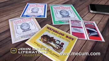 Mecum On Time TV Spot, 'John Deere Literature Collection'