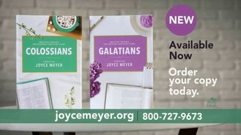 Joyce Meyer Ministries TV Spot, 'Colossians and Galatians: Put Jesus First' - Thumbnail 8